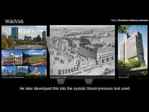 ELIZABETH HOLLOWAY MARSTON - WikiVidi Documentary