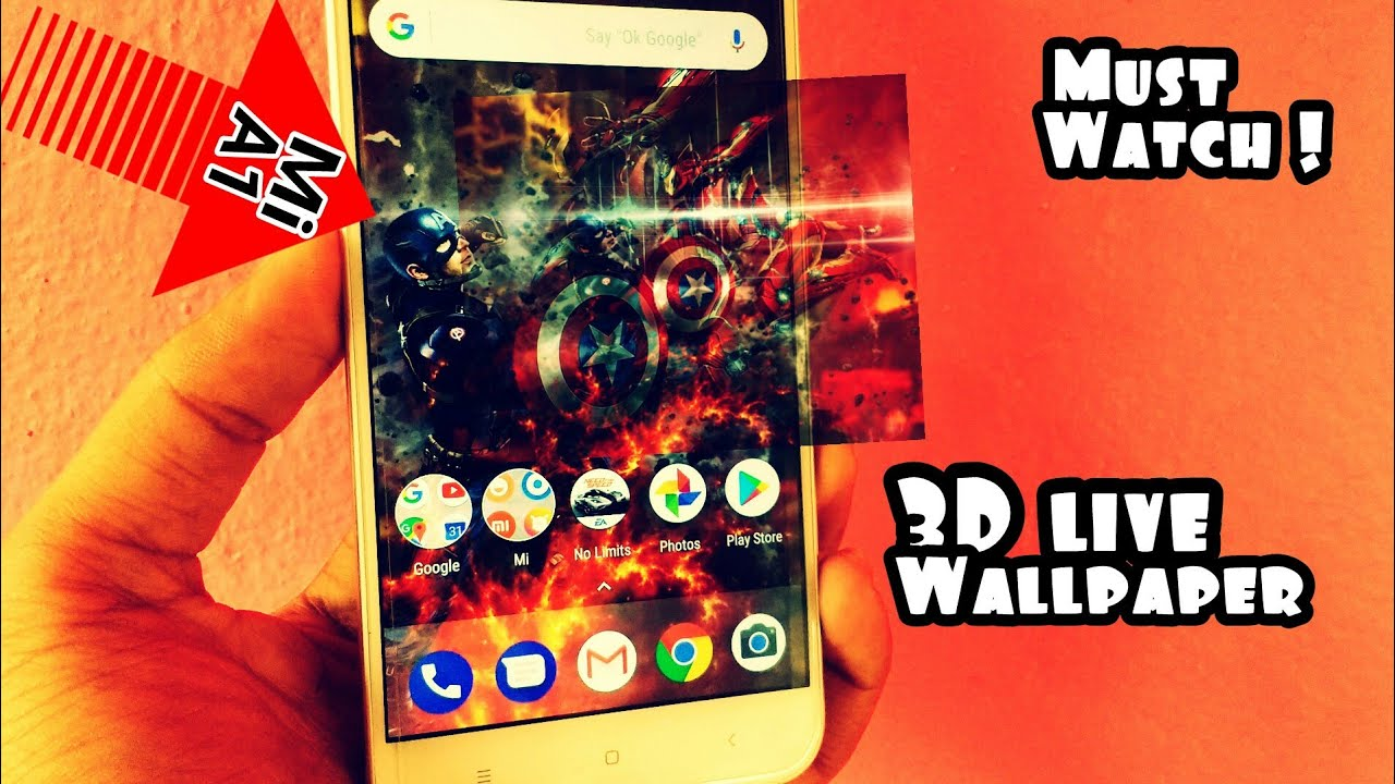 Xiaomi Mi A1 3D Live Wallpapers