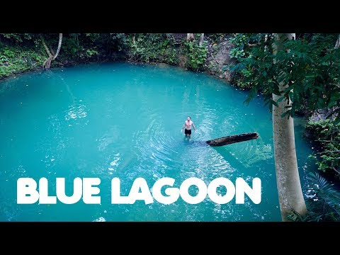 ENCHANTED BLUE LAGOON HIDDEN IN THE FOREST... (Mysterious Places Philippines)