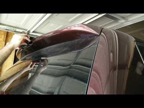 Replace spoiler third brake light bulb Honda Odyssey 05 06 07 08 09 10