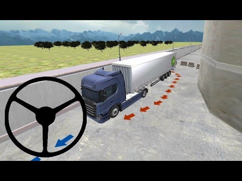 truck-parking-simulator-3d:-factory-#5-heavy-truck-parking-games,-ट्रक-खेलने-वाला-गेम