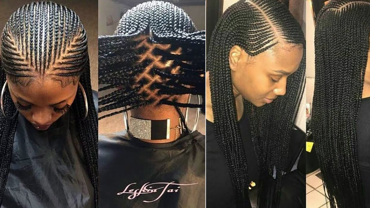 LATEST BOX BRAIDS HAIRSTYLES | BOXBRAIDS FOR BLACK WOMEN || BOX ...