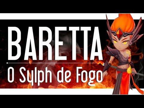 Summoners War BR - BARETTA, o Sylph de Fogo