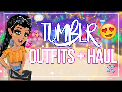 MAKING TUMBLR INSPIRED OUTFITS + BIG SHOPPING HAUL!
