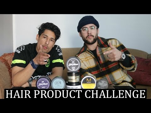 Ultimate Hair Product Challenge | Mens Hair 2017