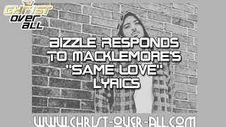 Bizzle Response To Macklemore