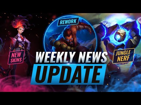 NEW UPDATES: UDYR REWORK + JUNGLE NERFS & MORE - League of Legends Season 11