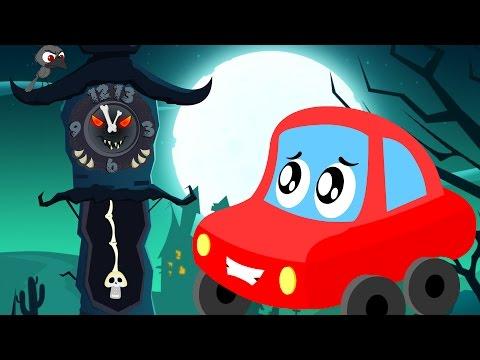 little red car | the clock has struck thirteen | Halloween songs for kids