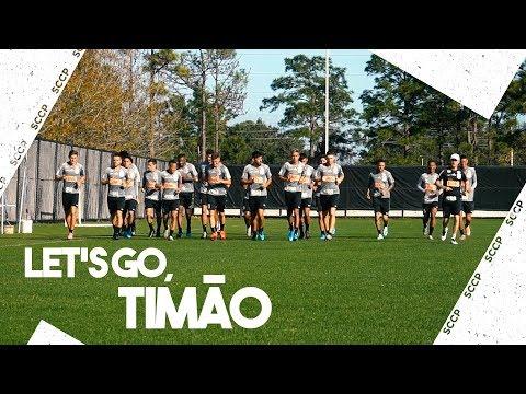 TIMÃO FAZ O PRIMEIRO TREINO DE OLHO NA FLORIDA CUP