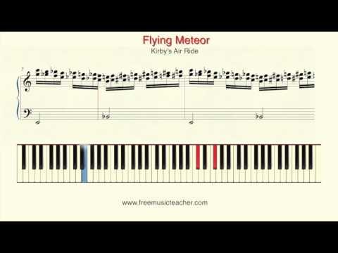 Flying Meteor   Kirby's Air Ride