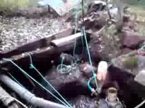 Vattenturbin bäck