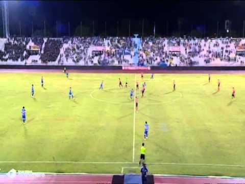 Highlight : Airforce Central FC 4-3 Bangkok United (15/06/14)