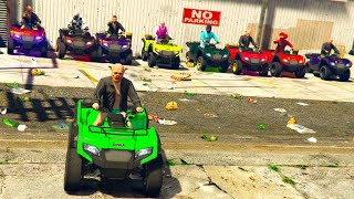 GTA 5 ONLINE 🐷 NASCONDINO VS QUAD VERUS !!! 🐷 GTA 5 ITA  🐷DAJE !!