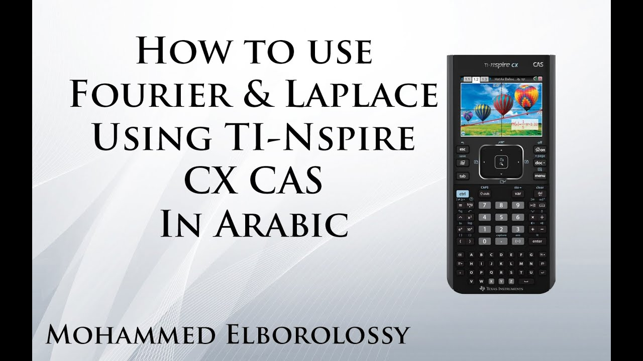 fourier coefficients and laplace using nspire cx cas youtube. Black Bedroom Furniture Sets. Home Design Ideas