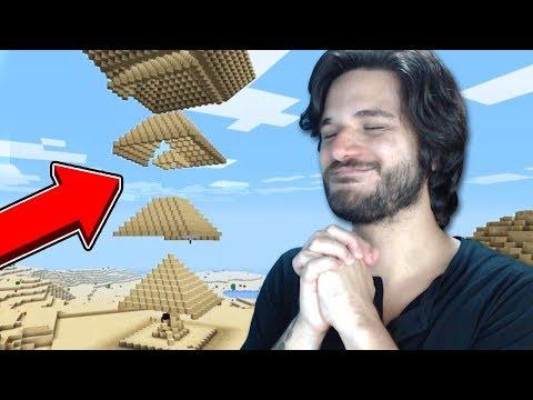 ESSE É O VÍDEO DE MINECRAFT MAIS SATISFATÓRIO DO MUNDO!!! thumbnail