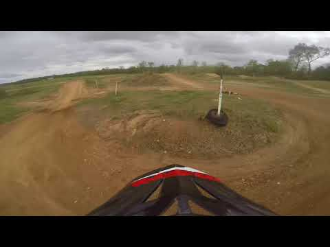 Charles City Dirt Riders Motocross track