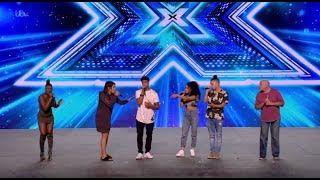 Group 3 Bring Great Energy to the Stage! Bootcamp Day 1 The X Factor UK 2017