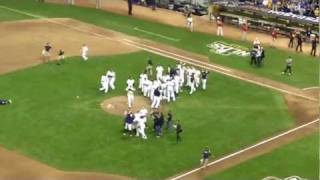 Brewers Win 2011 NLDS Game 5! (Edited)
