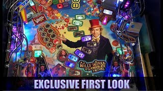 Exclusive First Look: Willy Wonka Pinball by Jersey Jack Pinball