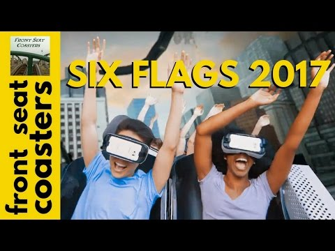 Six Flags México The New Revolution Roller Coaster ¡Lo Nuevo en 2017! con Realidad Virtual Samsung