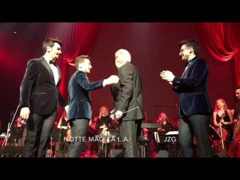 Il Volo Notte Magica LA with Maestro Placido Domingo