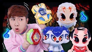 또 다른 귀신이 찾아왔어요!!! 신비아파트 고스트볼x의 탄생 고스트칩 디럭스2세트 장난감 놀이 - 강이