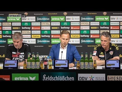 32. Spieltag | SGD - F95 | Pressekonferenz nach dem Spiel
