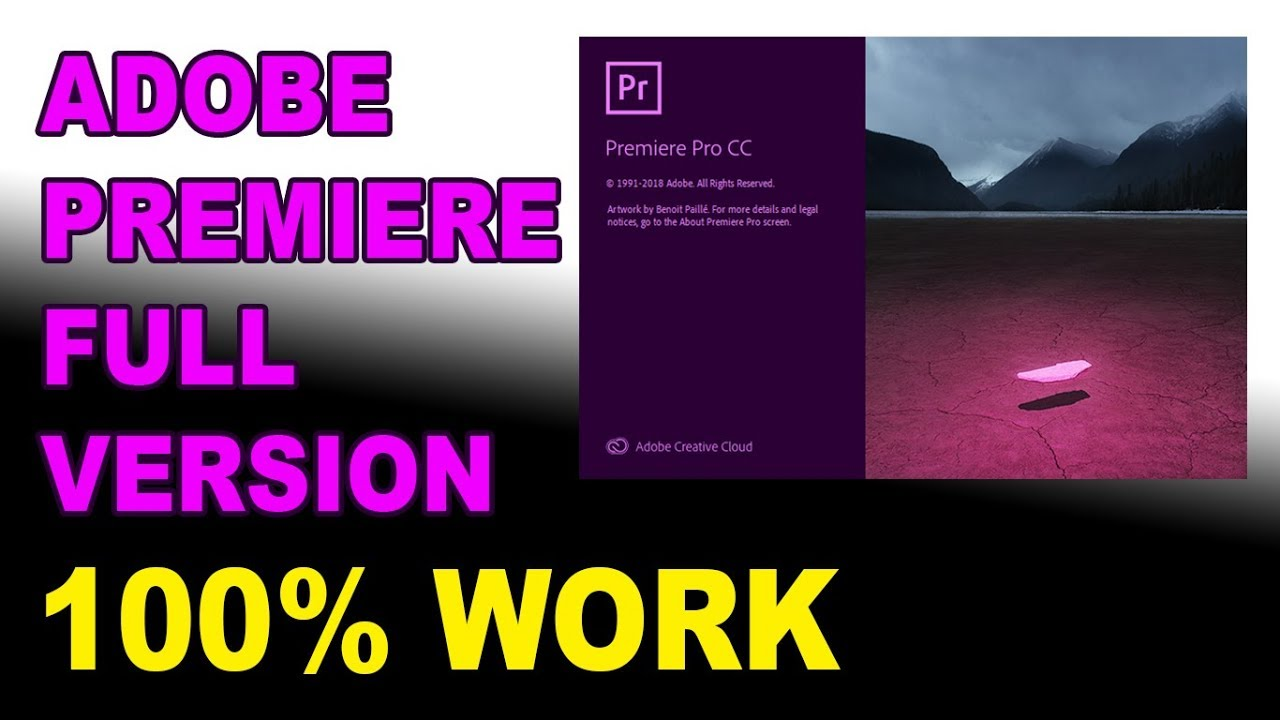 Adobe Premiere Pro CC 2019 ( VERSI TERBARU ) – FREE FULL VERSION