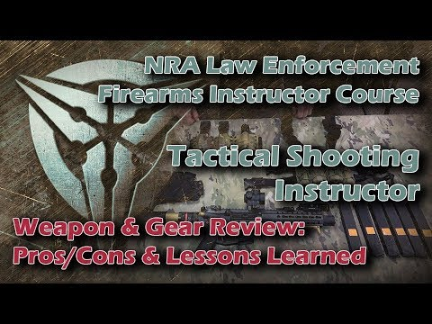 Gear & Weapons Review: NRA LEO Firearms Instructor Course: Tactical Shooting Instructor