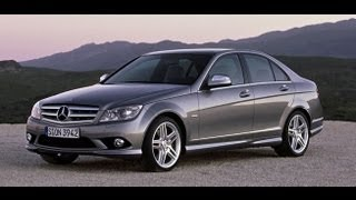 Mercedes W204 C Class Oil Change with Extractor Vacuum Pump