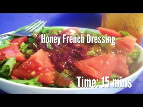 Honey French Dressing Recipe
