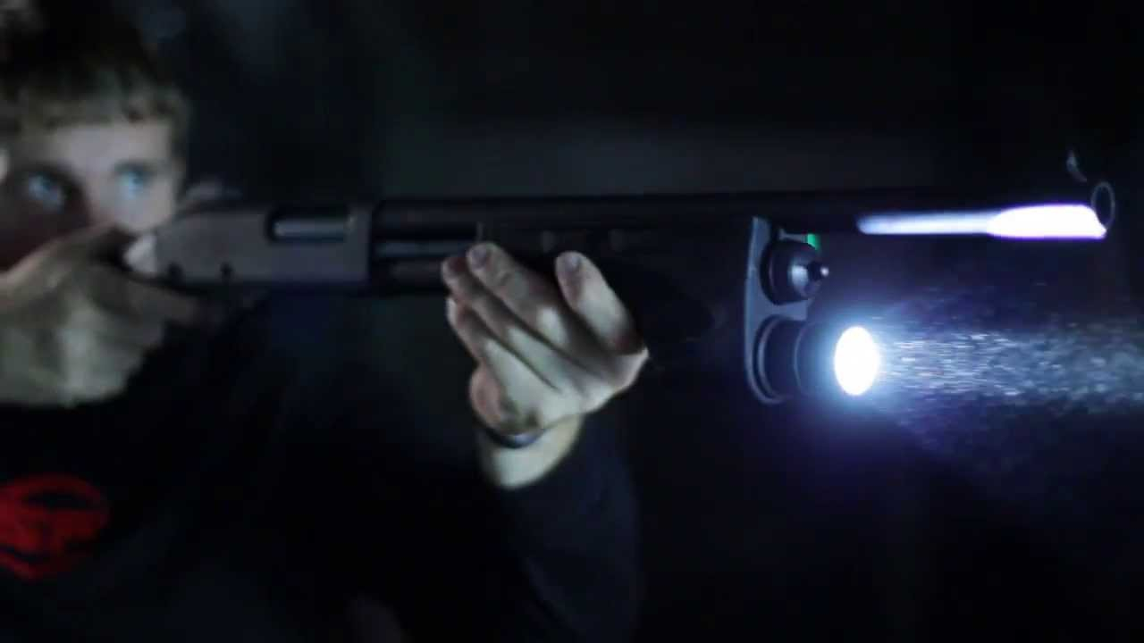 Surefire DSF Dedicated Shotgun Forend Light Home Defense Video