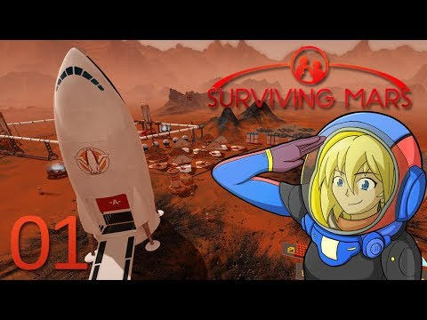 Colonising the final frontier | Surviving Mars Gameplay Playthrough | 01