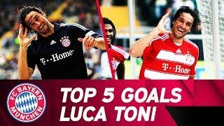 Top 5 Goals Luca Toni 👋🇮🇹