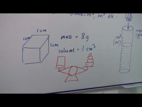 Physics Help : How to Calculate Density