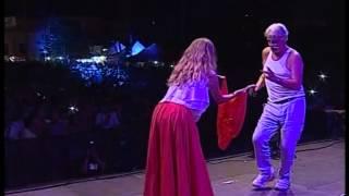 Michele Placido Pizzicato dalla Taranta al Concertone della Notte di San Rocco di Torrepaduli il 18