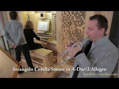 """Joachim Schäfer (Trompete) """"Italienisches um Bach"""""""