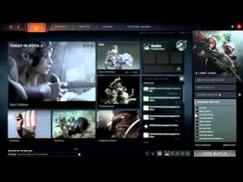 видео: Первый запуск и игра dota 2 reborn