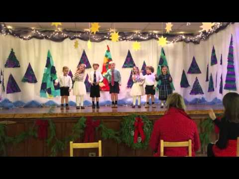 Christmas Program - Cedarcroft School - El Burrito Belen