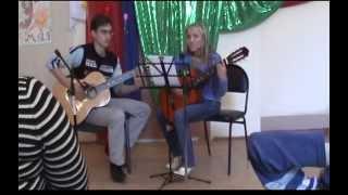 Зайка - на гитаре (Досужева Ирина, Заикин Алексей)