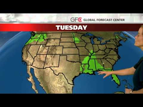 Today National Weather Map.Today S National Weather Forecast Youtube