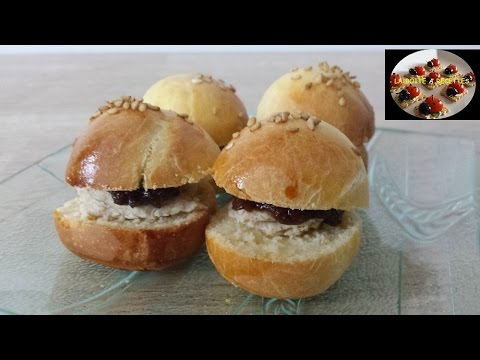 mini burger de noel foie gras confit de figue aperitif. Black Bedroom Furniture Sets. Home Design Ideas