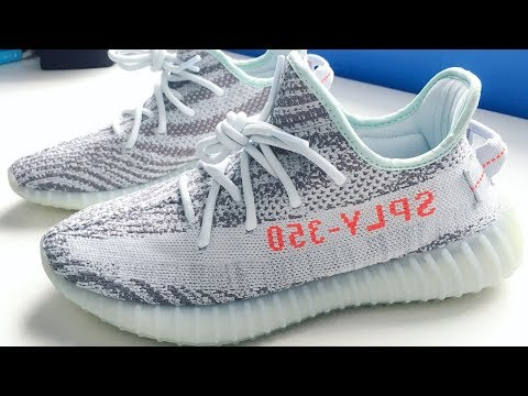 adidas-yeezy-boost-350-v2-(blue-tint)---unboxing,-review-&-on-feet