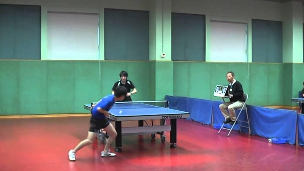 2013 香港乒乓球排名賽 李逸軒 對 賀方正 - YouTube