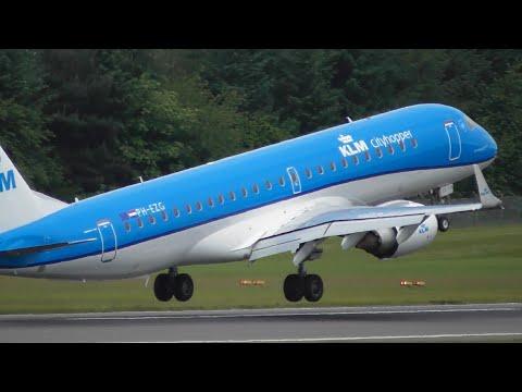 1 HOUR+ of Plane Spotting at Edinburgh Airport, EDI (Inc. Delta 767+United 757