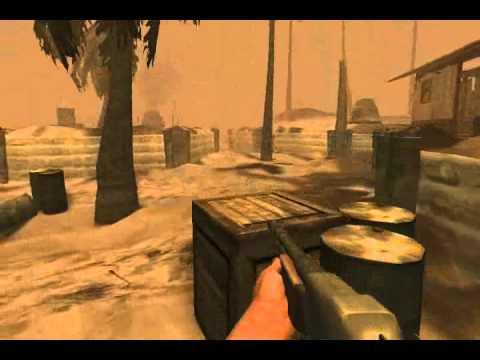MOH Pacific Assault - Final Mission - Tarawa Atoll (Realistic) + Credits