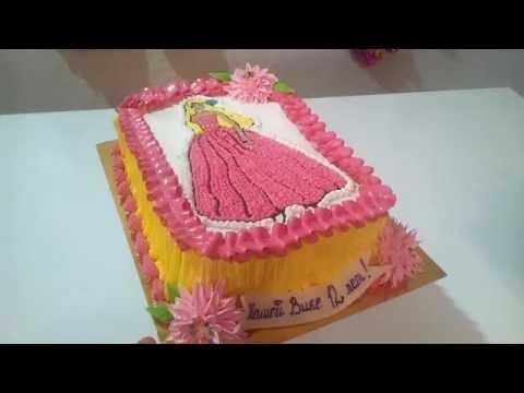 Торт кукла Барби  Торты для девочек Cake Cakes Barbie doll for girls
