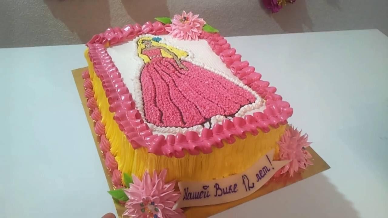 фото тортики для девочек