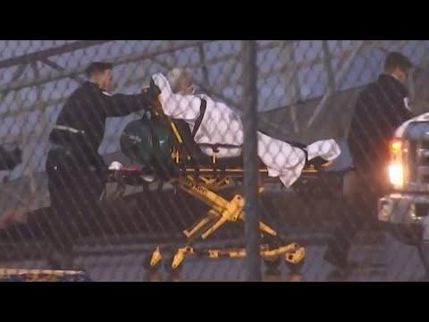 Coronavirus: Passengers carried off cruise liner in New Jersey