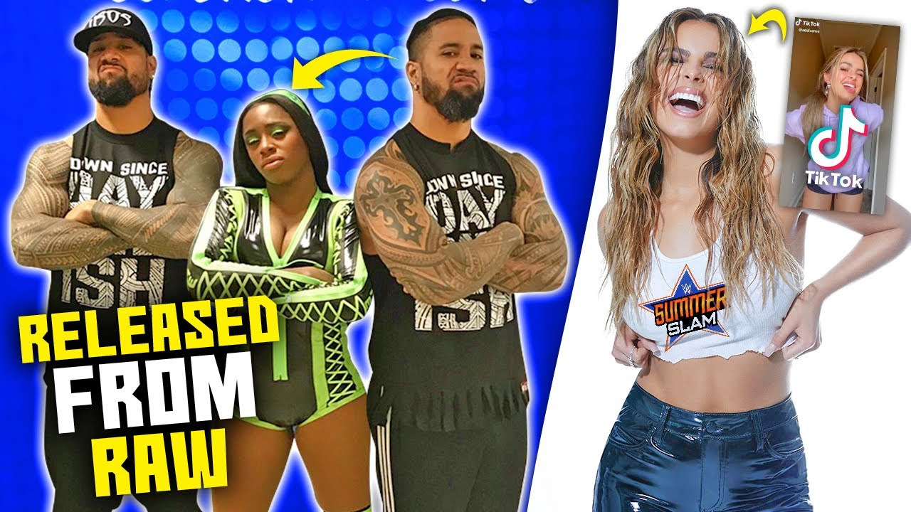 Naomi RELEASED From Raw.. Roman Reigns NOT HAPPY! (TikTok Stars Coming to WWE)